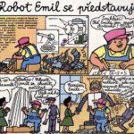ROBOT EMIL: komiks z časopisu ABC z roku 1961