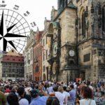Co má znamenat zvláštní geometrie v uspořádání Prahy?